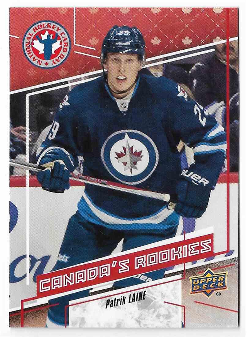 2016 17 Upper Deck National Hockey Card Day Canada Patrik