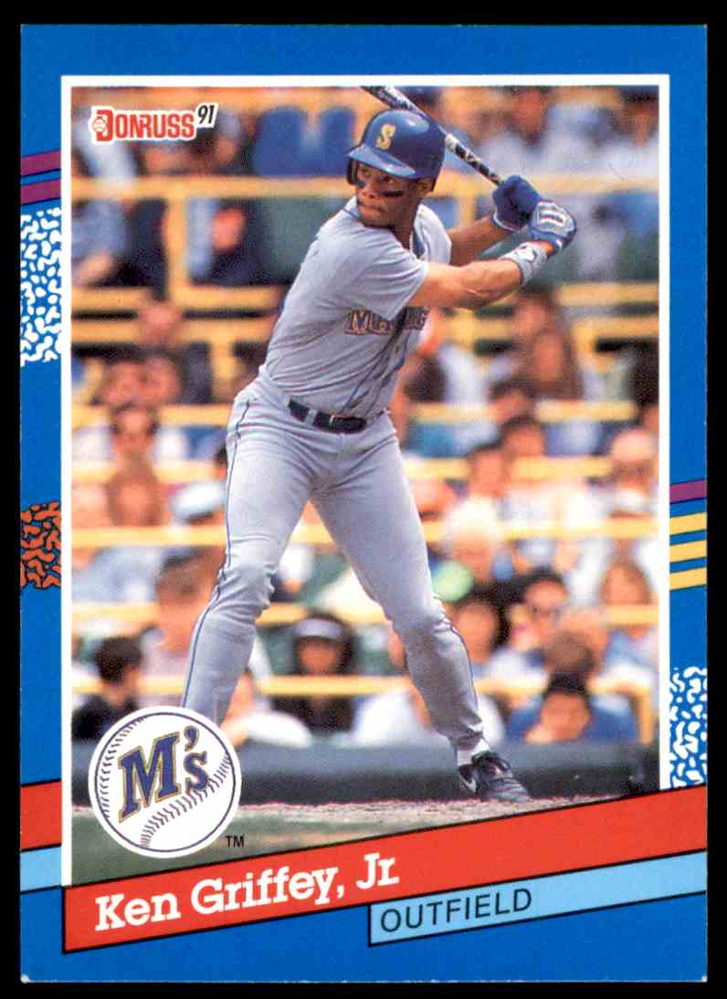 a40e697bff 1991 Donruss Ken Griffey JR. #77 card front image