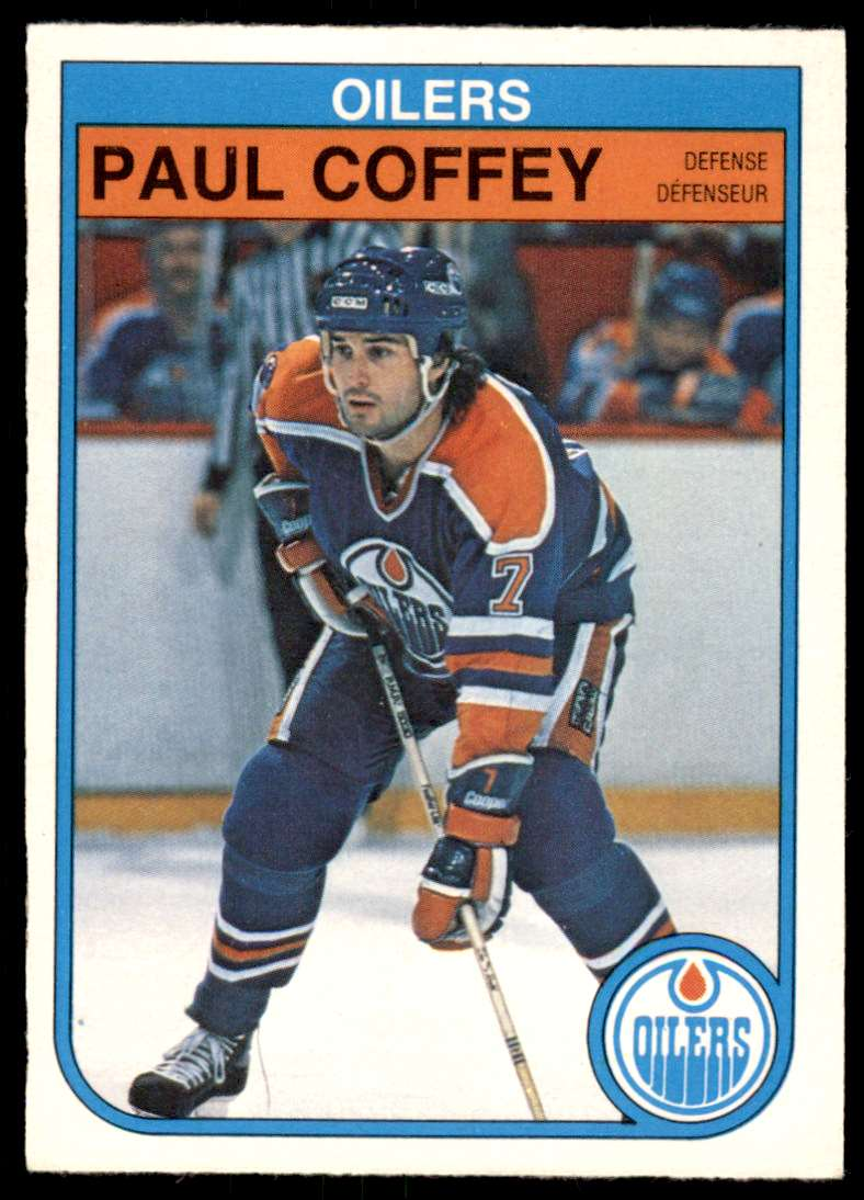 1982-83 OPC Paul Coffey #101 card front image