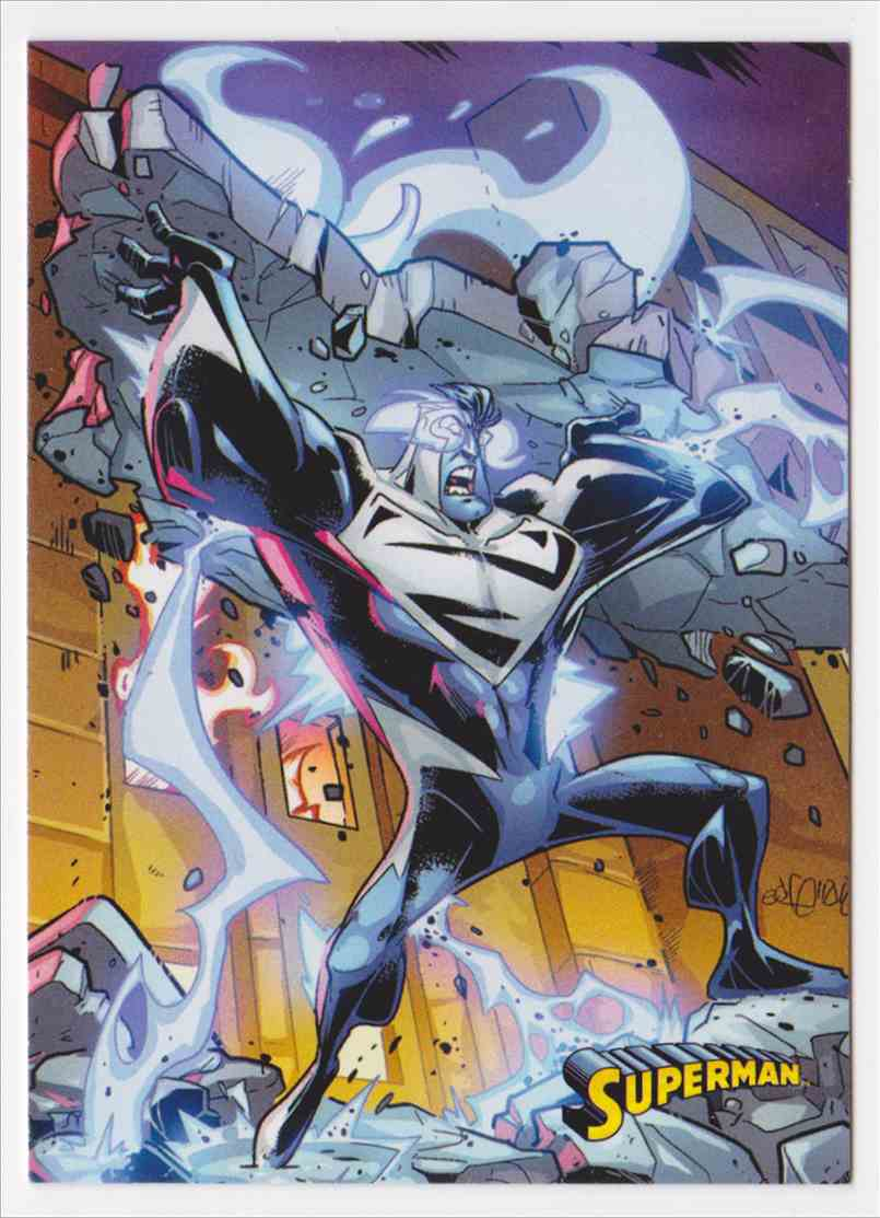2013 Superman Cryptozoic Superman #58 card front image