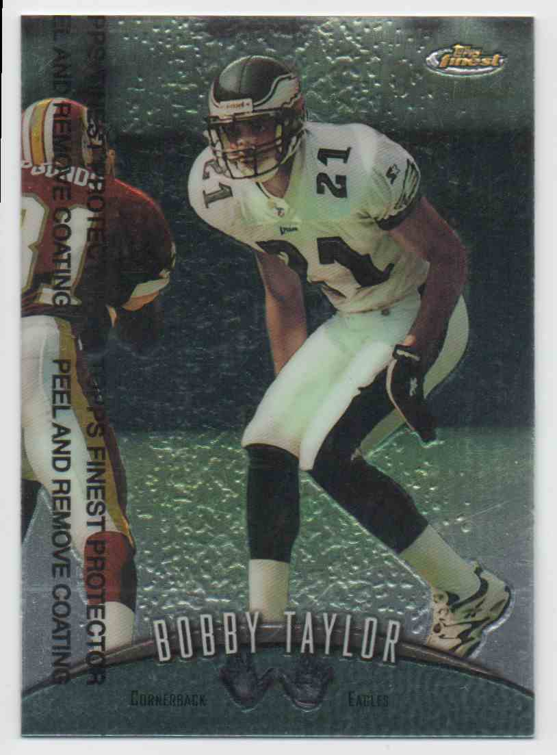 1998 Finest Bobby Taylor #41 card front image