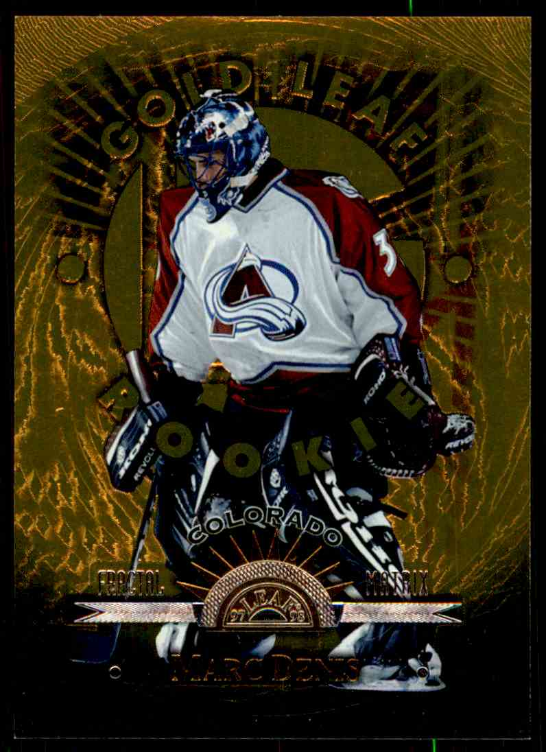 1997-98 Leaf Fractal Matrix Marc Denis #148 card front image