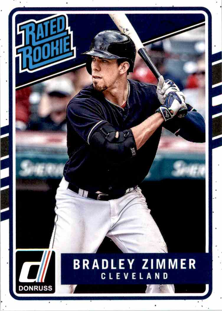 2017 Panini Chronicles Bradley Zimmer #204 card front image