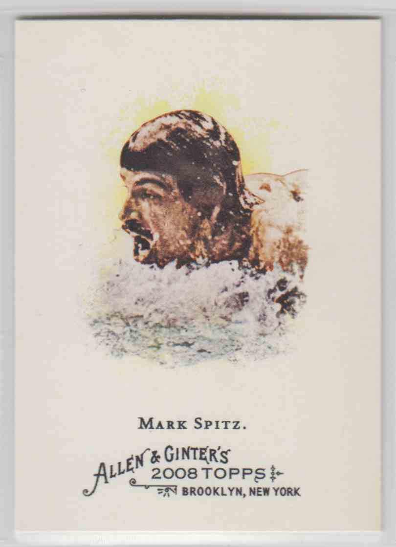 2008 Topps Allen And Ginter Mark Spitz #262 card front image