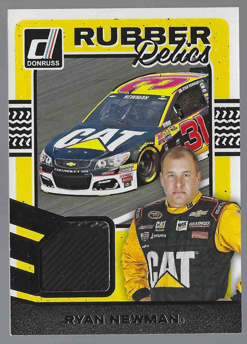 2017 Donruss Rubber Relics Ryan Newman #RRRN card front image