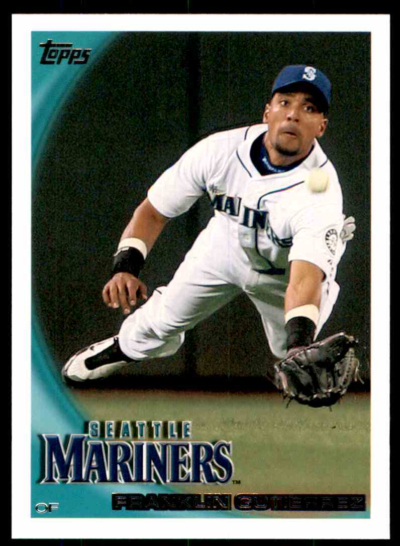 2010 Topps Franklin Gutierrez #616 card front image