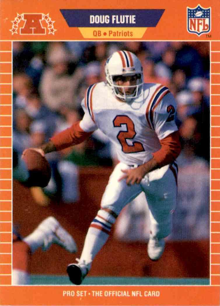 1989 NFL Pro Set Doug Flutie #249 on Kronozio