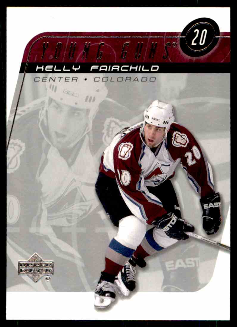 2002-03 Upper Deck Young Guns Kelly Fairchild #202 card front image