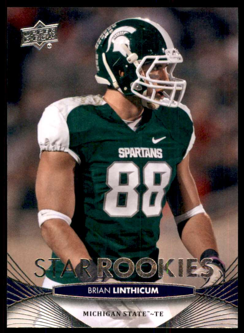 2012 Upper Deck Brian Linthicum #140 card front image