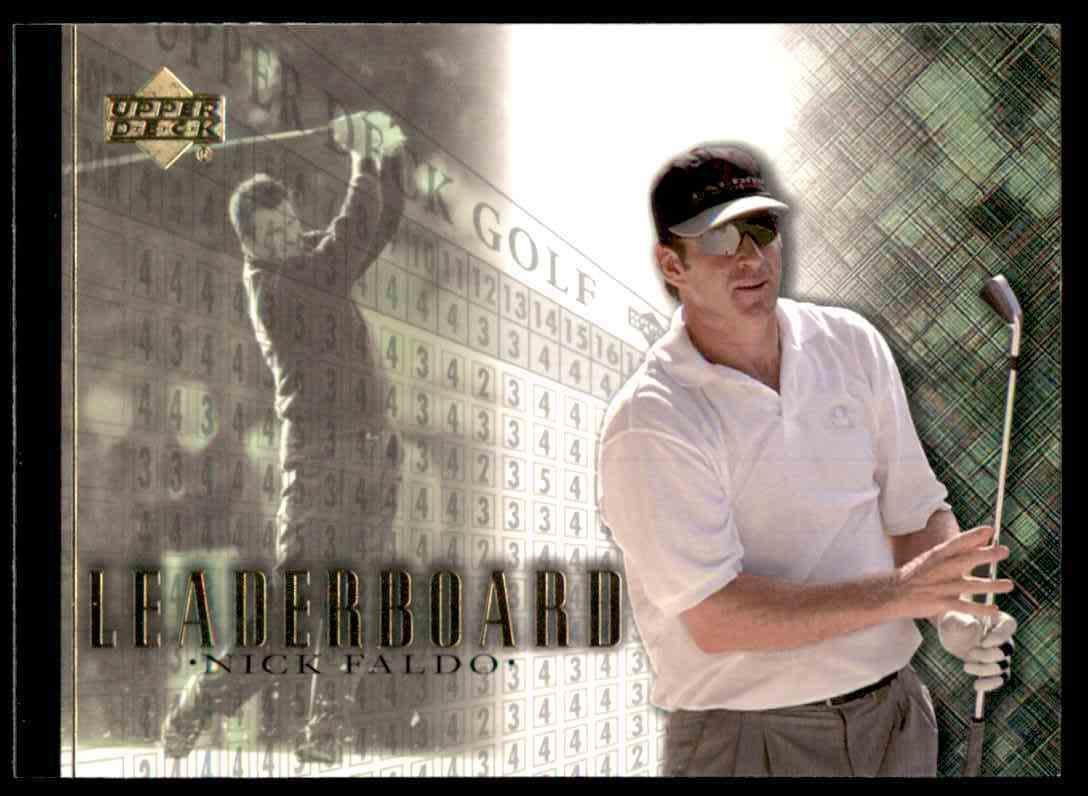 2001 Upper Deck Nick Faldo Lb #104 card front image