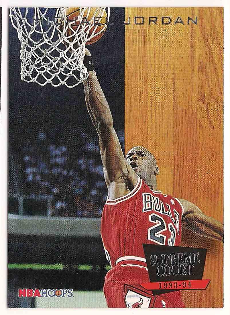 1993-94 Hoops Supreme Court Michael Jordan #SC11 card front image
