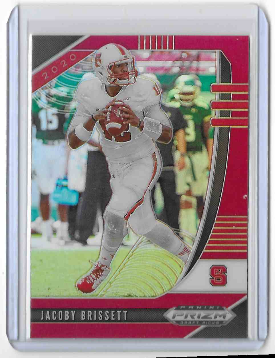 2020 Panini Prizm Draft Picks Red Jacoby Brissett #47 card front image