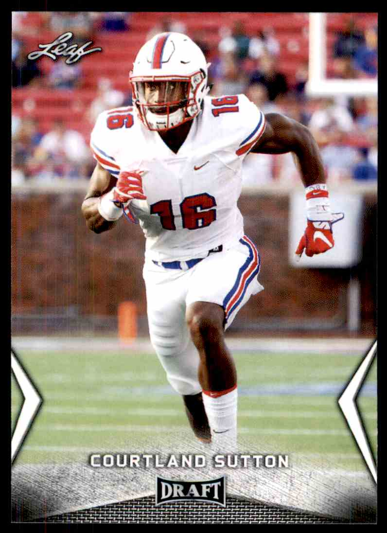 2018 Leaf Draft Courtland Sutton #12 card front image