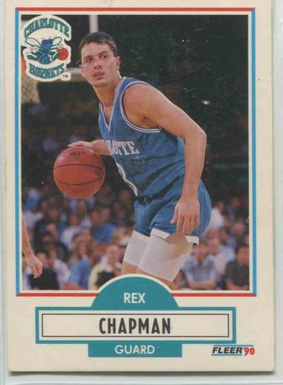 1990 91 Fleer Rex Chapman 17 on Kronozio