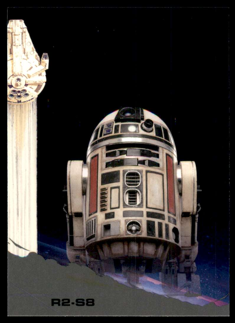 2018 Solo A Star Wars Story Black R2-S8 #15 card front image