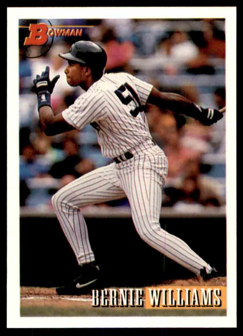 a biography of bernie williams a professional baseball player