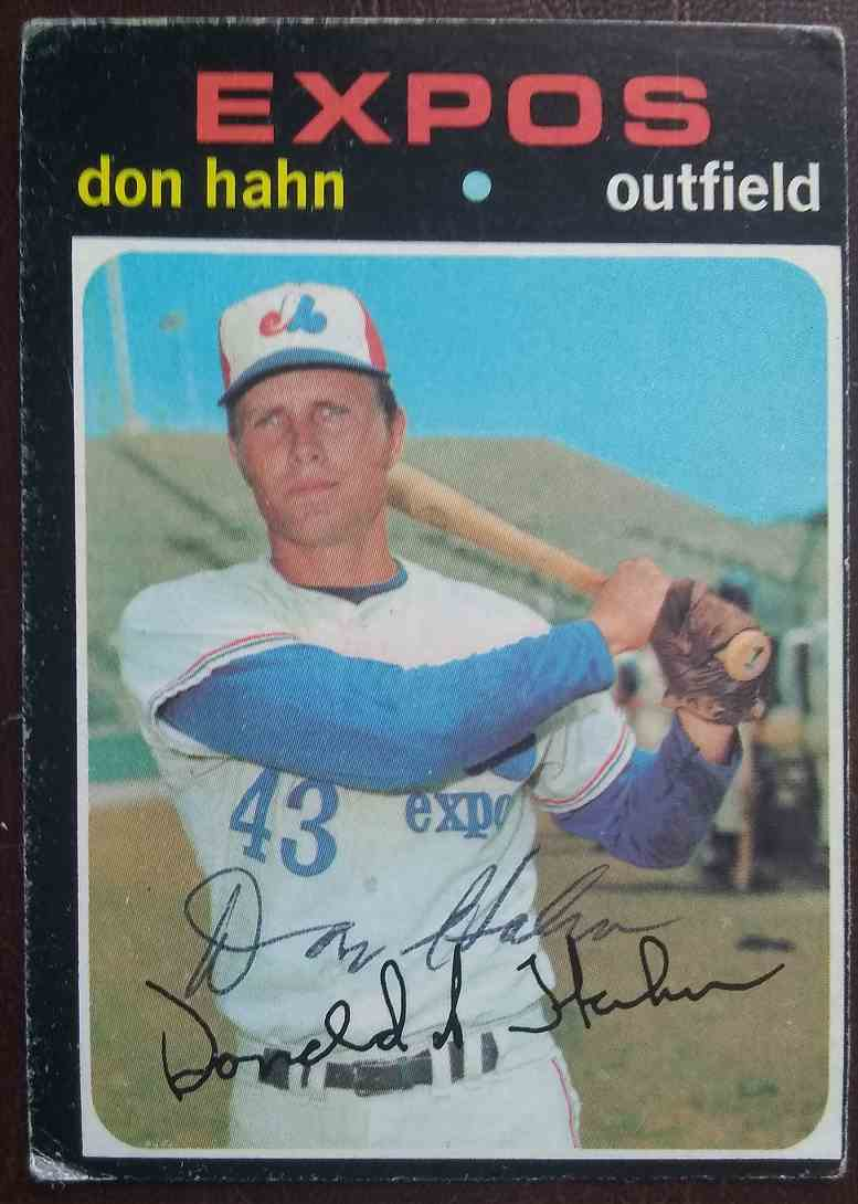 1971 Topps Don Hahn #94 card front image