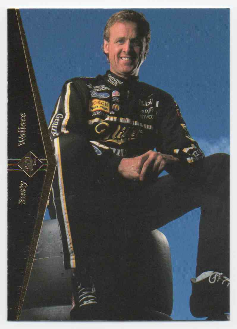 1995 SP Rusty Wallace #33 card front image