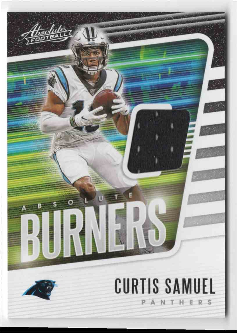 2020 Absolute Absolute Burners Jerseys Curtis Samuel #2 card front image