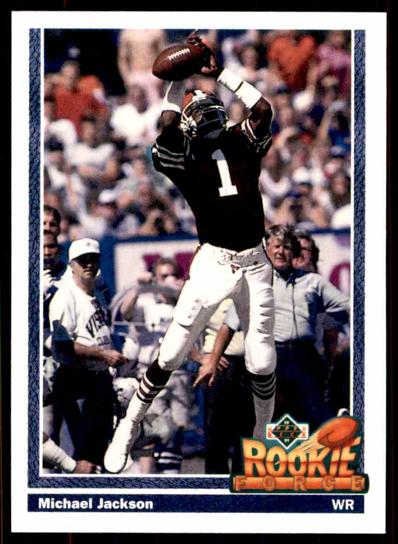 1991 Upper Deck Michael Jackson Wr Rc 610 On Kronozio