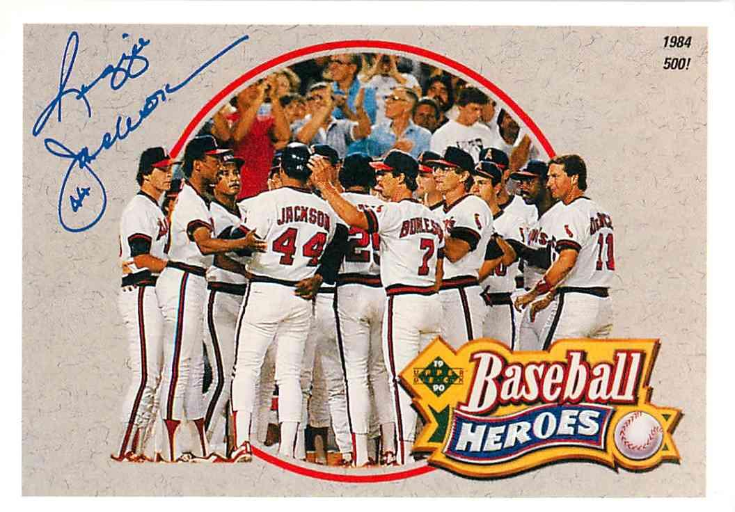 1990 Upper Deck Baseball Heroes Reggie Jackson 6 On Kronozio
