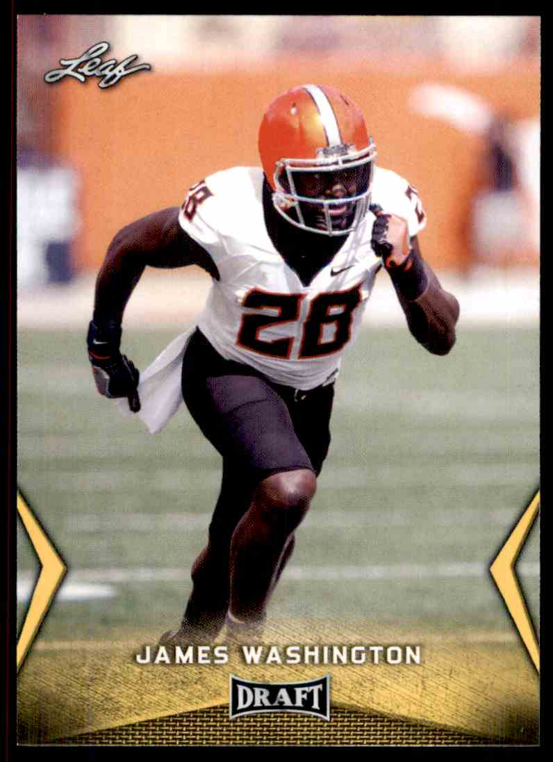 2018 Leaf Draft James Washington #27 card front image