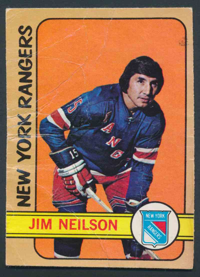 1972-73 O-Pee-Chee Jim Neilson card front image