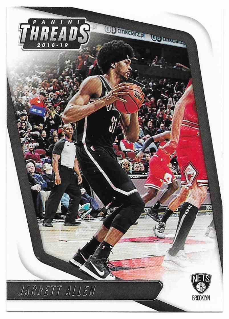 2018-19 Panini Threads Jarrett Allen #59 card front image