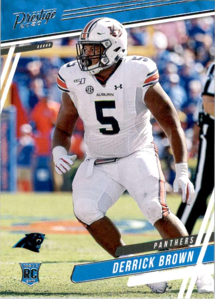 2020 Prestige Derrick Brown #234 card front image
