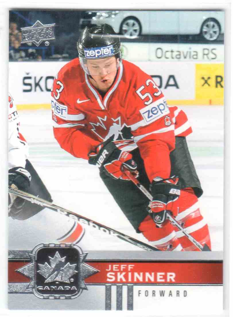 2017-18 Upper Deck Team Canada Canadian Tire Jeff Skinner #42 card front image