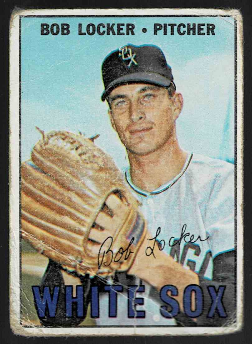 1967 Topps Bob Locker #338 card front image