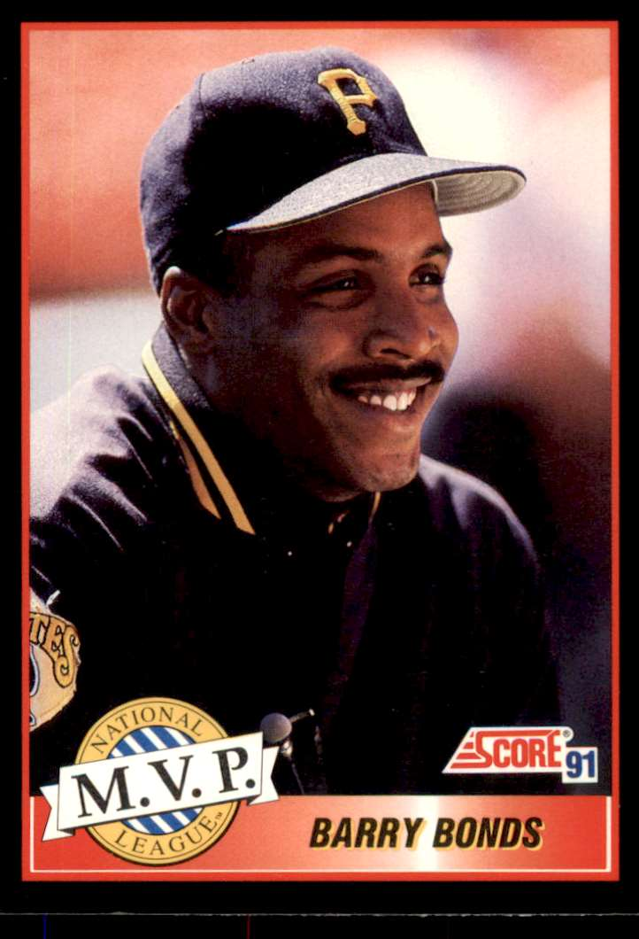 1991 Score MVP Barry Bonds #876 card front image
