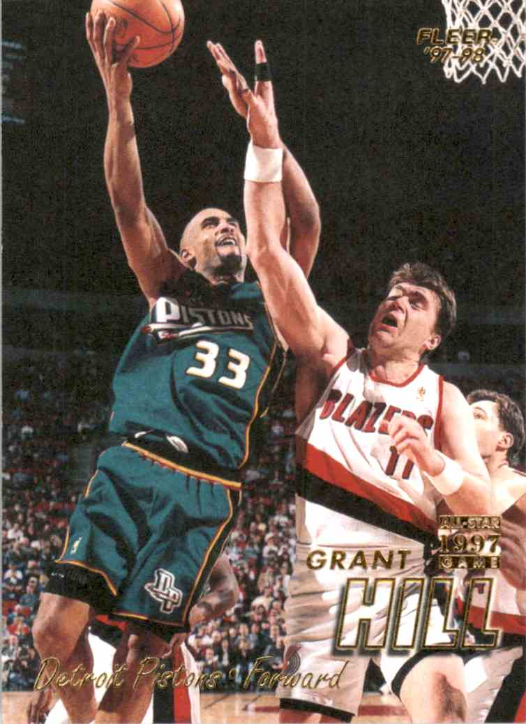 1997-98 Fleer Grant Hill #33 card front image