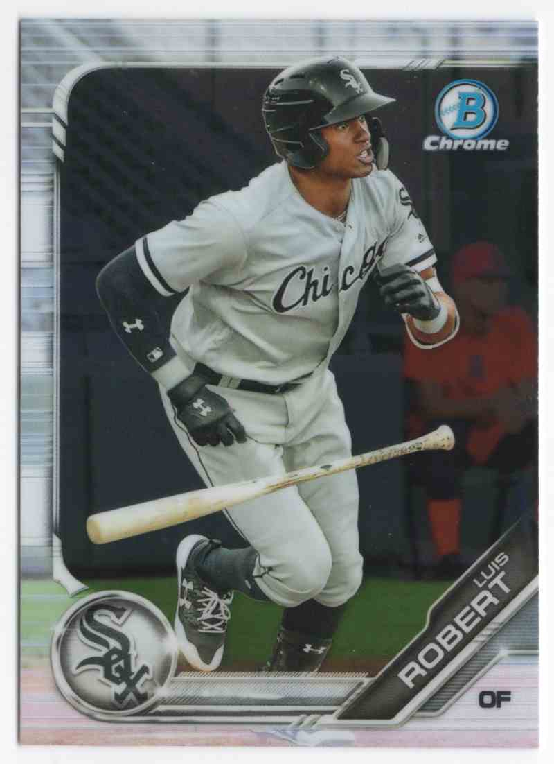2019 Bowman Chrome Prospects Luis Robert #BCP44 card front image
