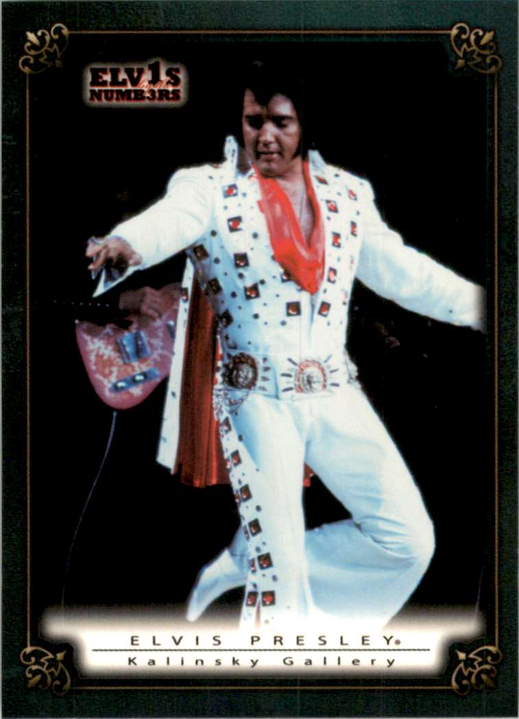 2008 Elvis By The Numbers Kalinsky Gallery #61 card front image