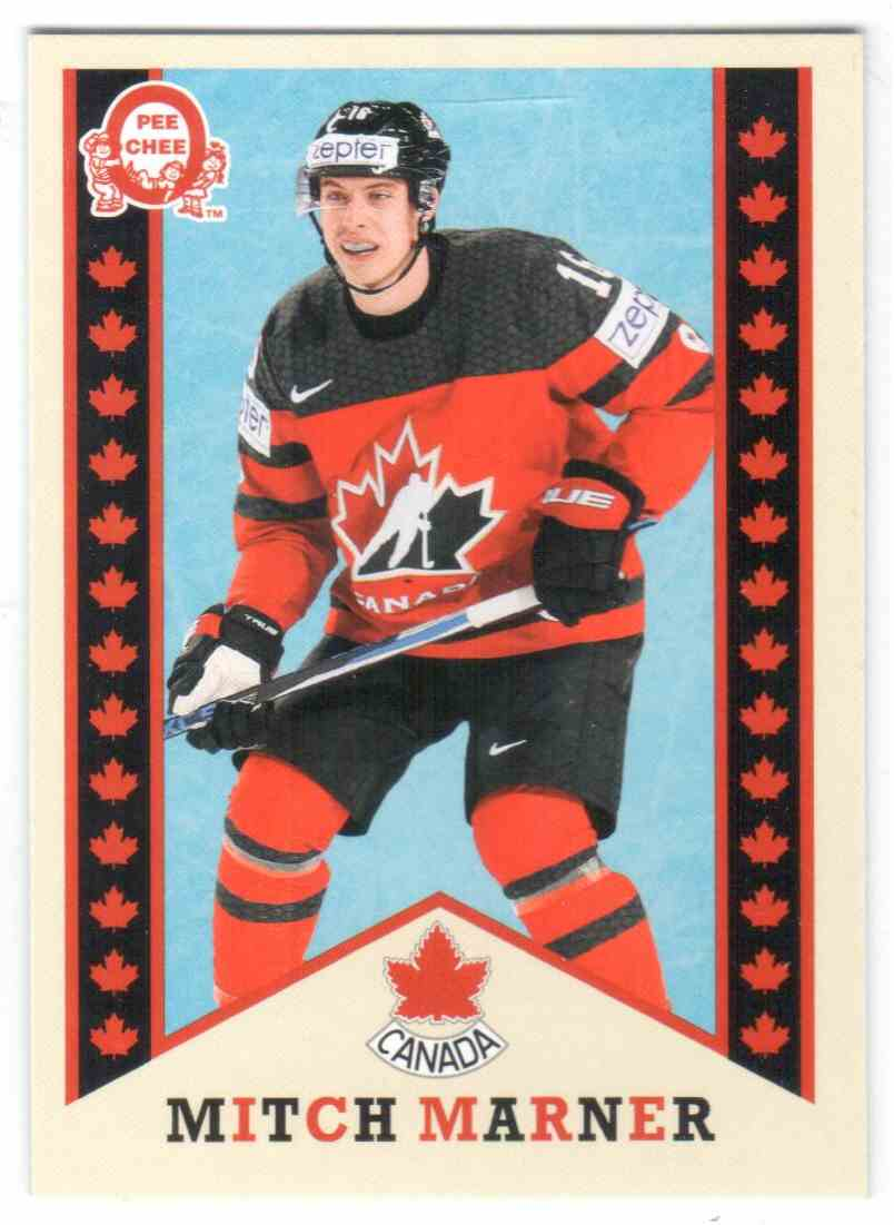 2017-18 Upper Deck Team Canada Canadian Tire Retro Mitch Marner #R-2 card front image