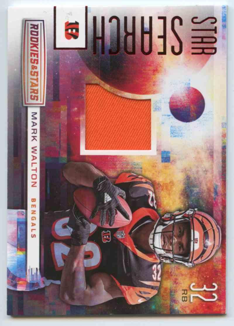 2018 Rookies & Stars Rookie And Stars Football Marl Walton #SS-31 card back image