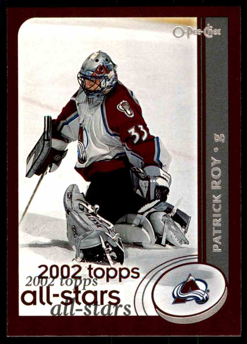 2002-03 Topps Patrick Roy #320 card front image