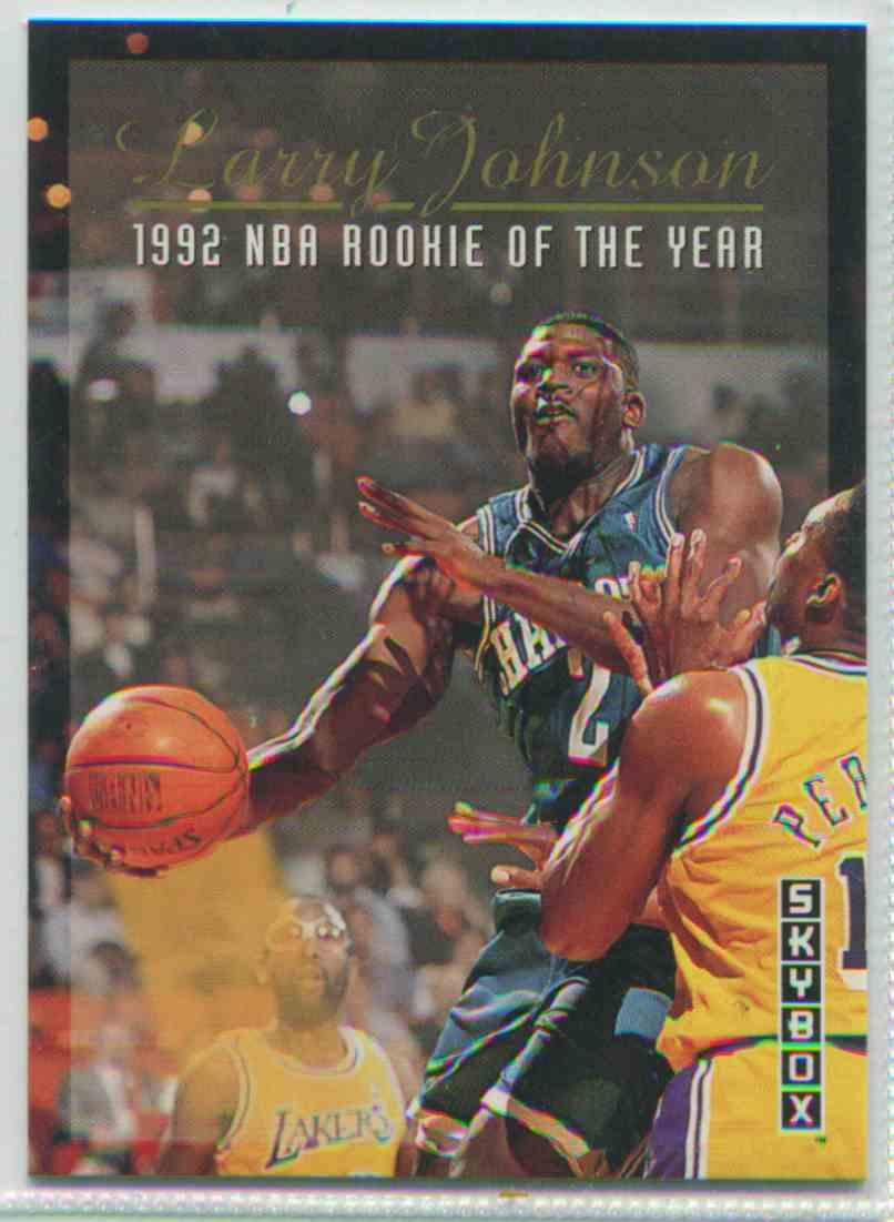 1992 93 Skybox Larry Johnson 319 On Kronozio