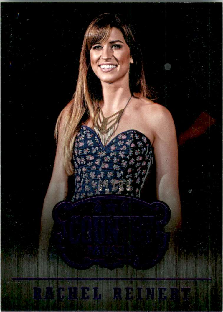 2015 Country Music Purple Rachel Reinert #40 card front image
