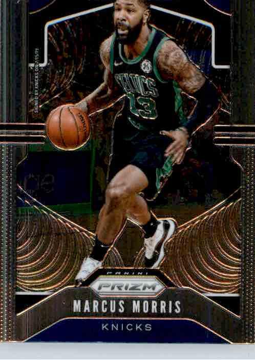 2019-20 Panini Prizm Basketball Prizm Marcus Morris #46 card front image