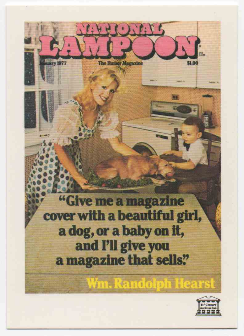 1993 National Lampoon January 1977 #62 card front image