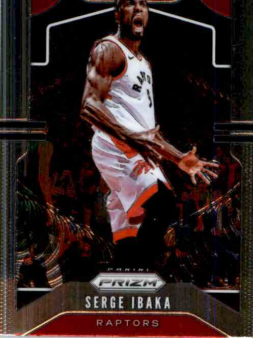 2019-20 Panini Prizm Basketball Prizm Serge Ibaka #154 card front image