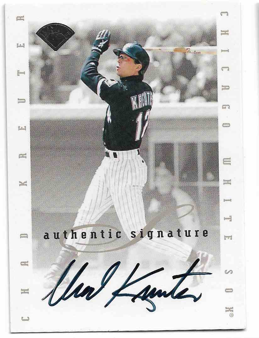 1996 Leaf Signature Series Chad Kreuter #CHKR card front image