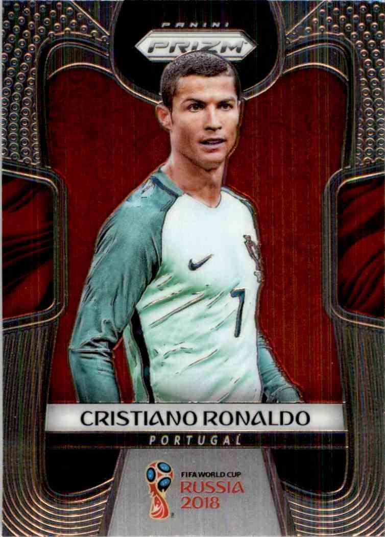 2018 Panini Prizm World Cup Cristiano Ronaldo #154 card front image