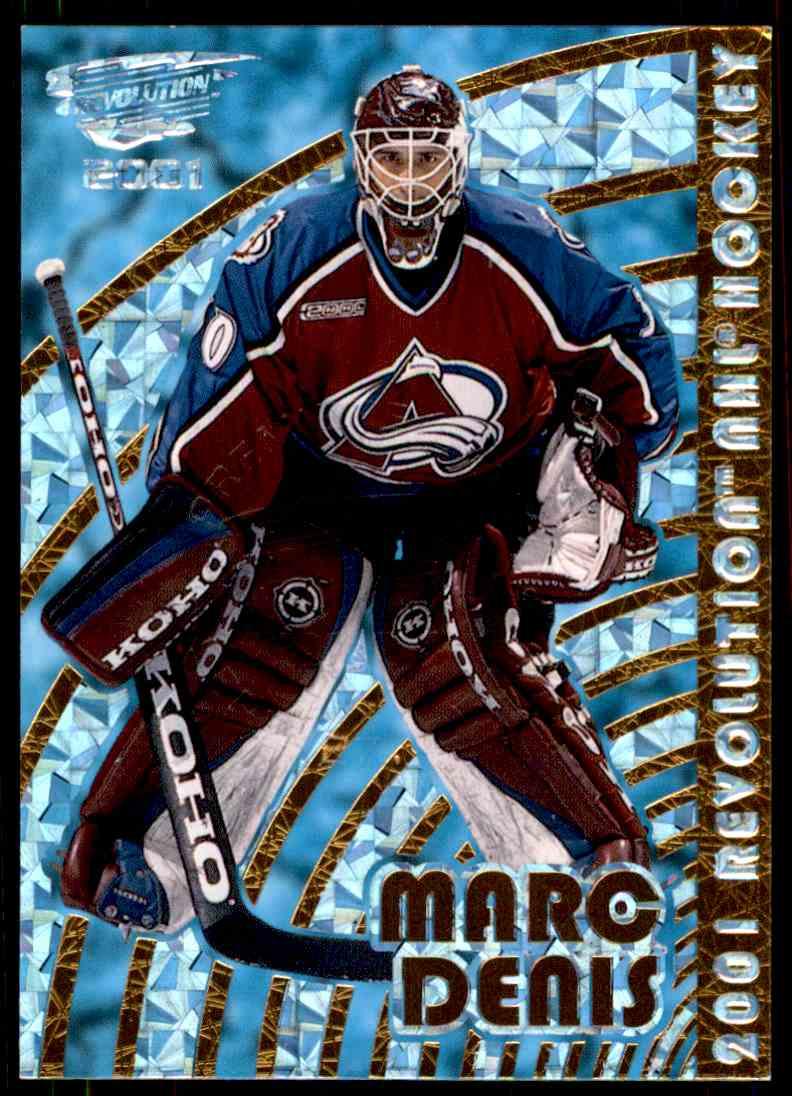 2000-01 Revolution Premiere Date Marc Denis #42 card front image