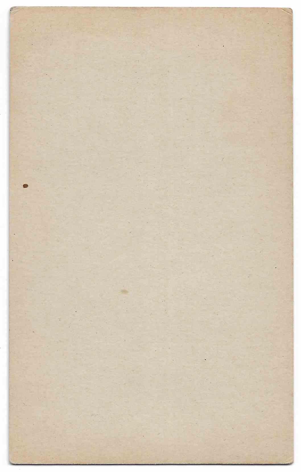 1947 Exhibits George Kell card back image