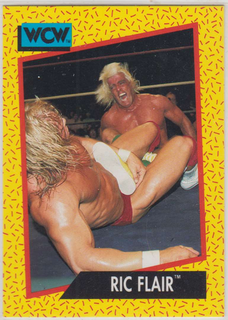 1991 Impel Wcw Ric Flair #39 card front image