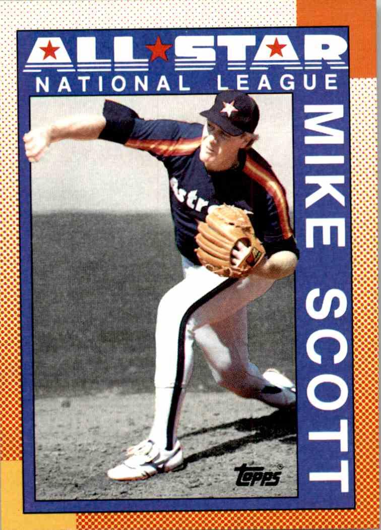 1990 Topps All Star National League Mike Scott 405 On Kronozio