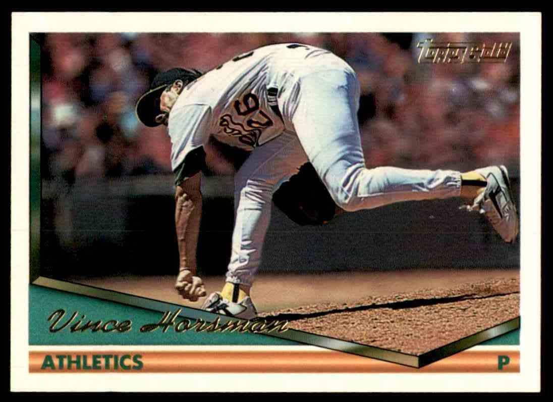 1994 Topps Gold Vince Horsman #436 card front image